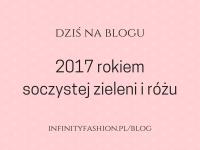 2017 rokiem soczystej zieleni i różu