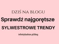 Sprawdź najgorętsze sylwestrowe trendy