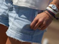 Jak nosić jeansowe szorty?