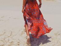 Spódnica z falbanami na lato - modne stylizacje
