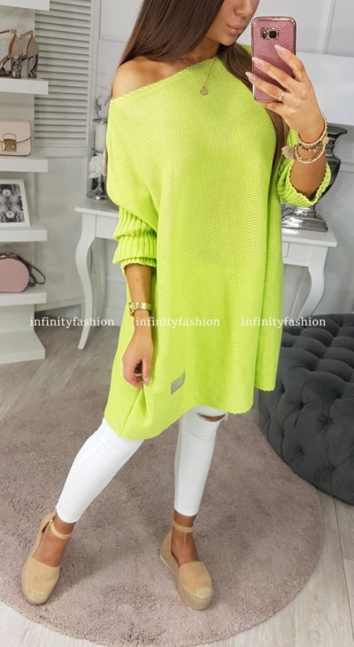 SWETER PHILO LIMONKOWY