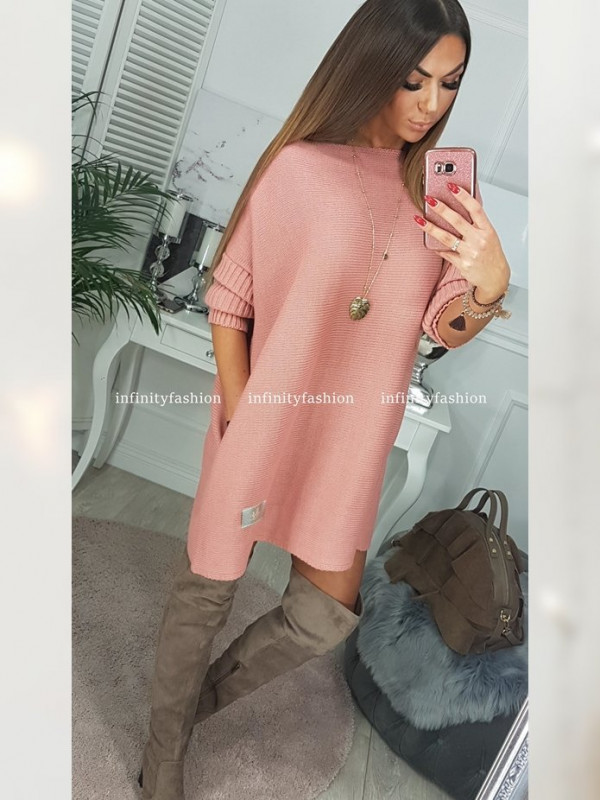 SWETER PHILO DUSTY PINK