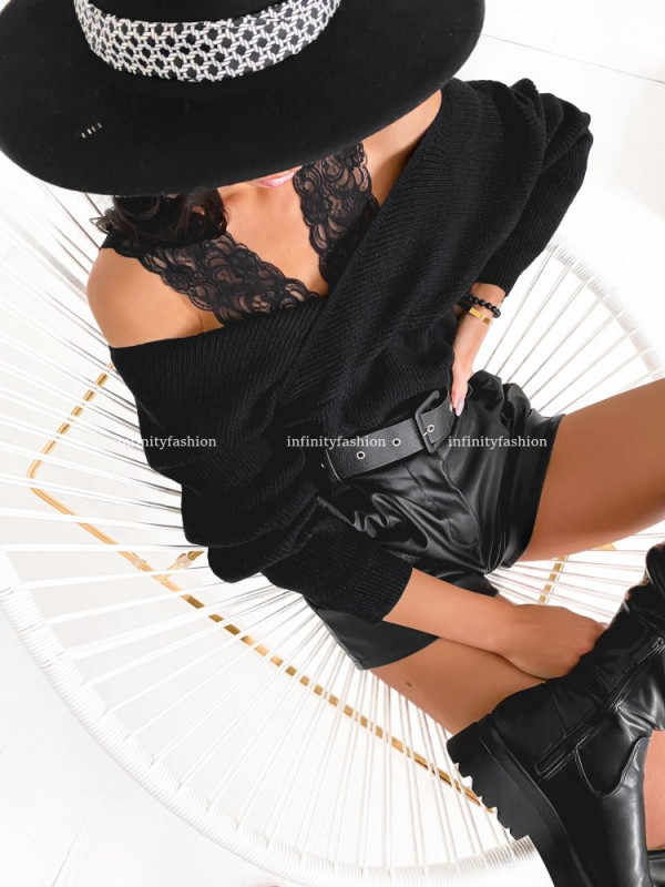 SWETER PARISA BLACK