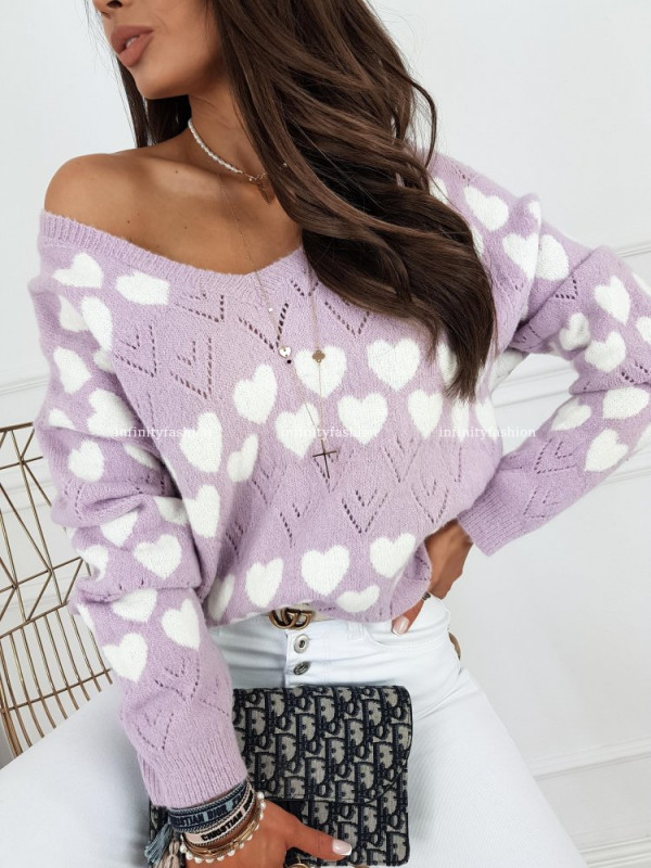 SWETER AMPO VIOLET