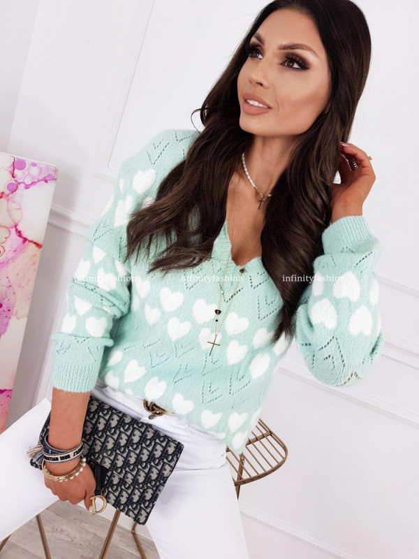 SWETER AMPO MINT