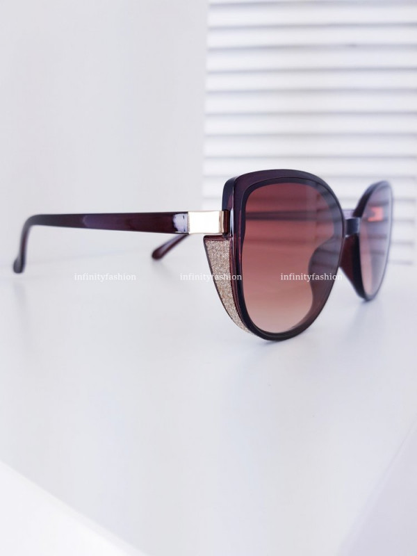 OKULARY MAELLA BROWN