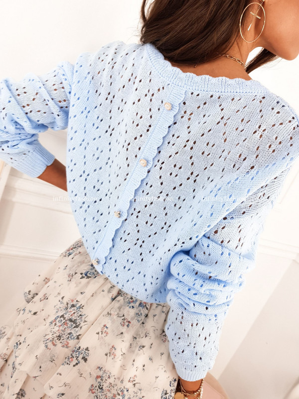 SWETER ISTRIA BABY BLUE